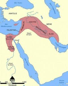 Origines de la vigne sur la planète - arrivee en <H2>egypte</H2>