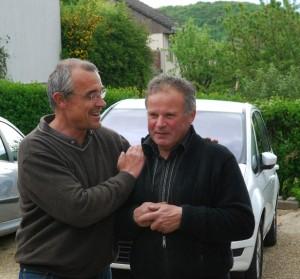 A droite, Régis Parigot