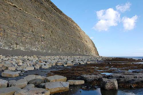 Baie de Kimmeridge - Comté de Dorset - Sud de l'Angleterre