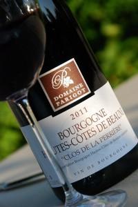 """Bourgogne hautescôtes de  beaune""""Clos de la Perrière"""" 2011 du domaine Parigot & Fils - Copyright Quitou"""