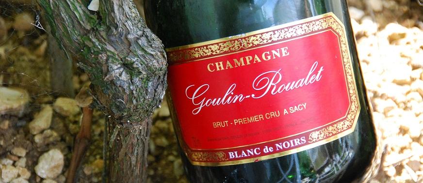 Le Blanc de Noirs, une spécialité du domaine Goulin-Roualet dans la Montagne de reims en Champagne