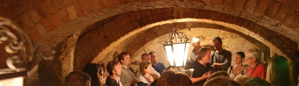 Dégustation dans la cave d'Emmanuel Pithois à Verzenay en Champagne
