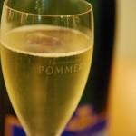 Flûte de champagne Brut Royal Pommery