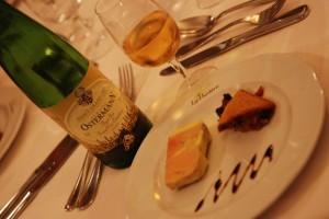 Foie gras en terrine et Pinot Gris Grand cru Osterberg du domaine Ostermann -