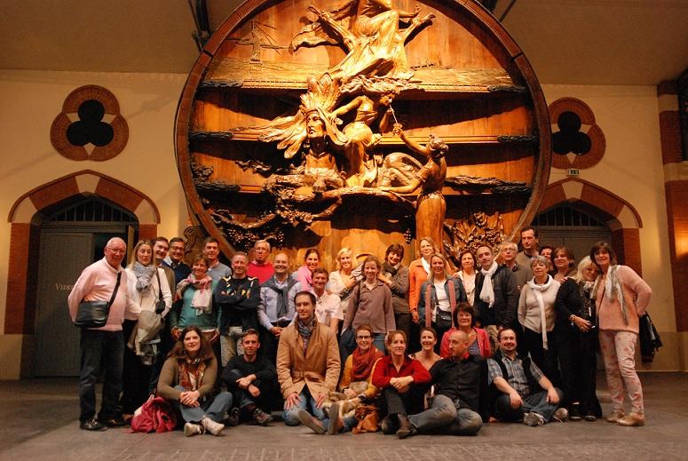 Quitou Wine Travel - Visite chez Pommery en Champagne