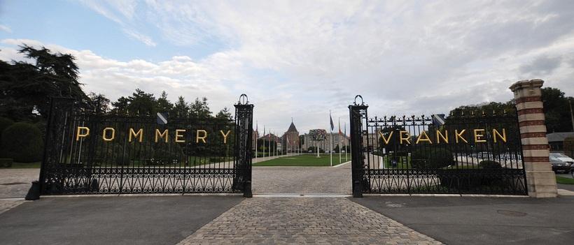 Les grilles de Vranken Pommery à Reims