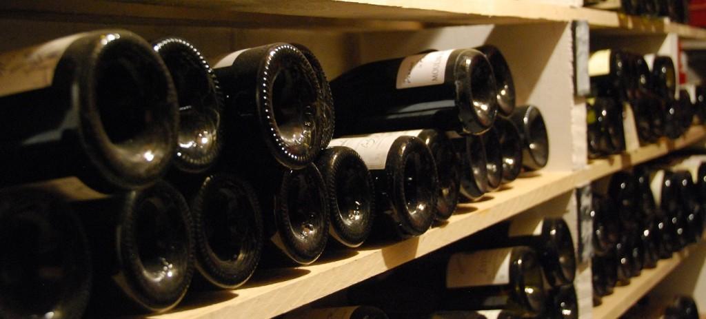 pénurie mondiale de vin - cave bouteilles