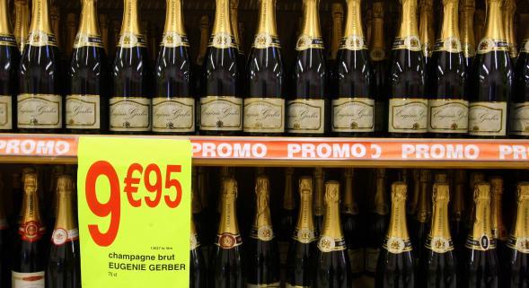 champagne promo fêtes