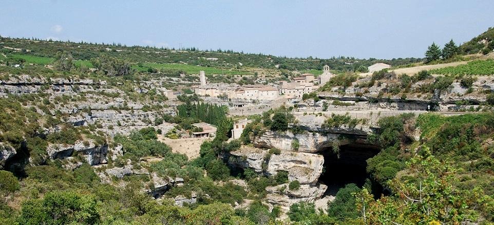 Cité de Minerve dans le Languedoc