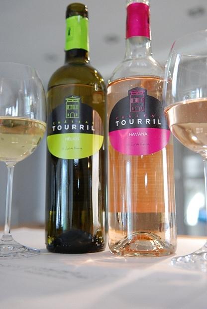 Minervois rosé et blanc - Château Tourril