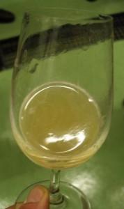 Vin blanc non filtré