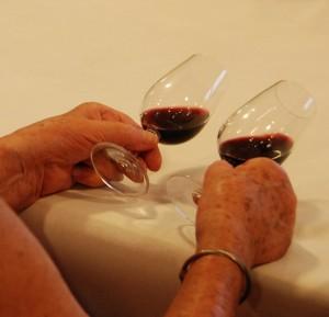 Robe des vins rouges
