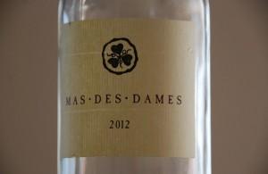 coteaux du languedoc rosé 2012 - Mas des Dames