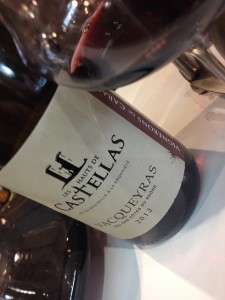 vacqueyras vignerons de caractere - Hauts de Castellas 2012