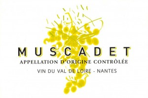 etiquette muscadet