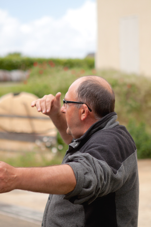 Philippe Lamé du domaine Lamé Delisle Boucard