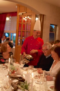 Christophe Duguins - restaurant Au Chapeau Rouge à Chinon