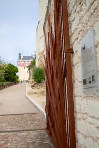 Entrée de la forteresse royale de chinon