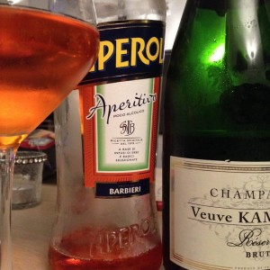 Spritz au champagne