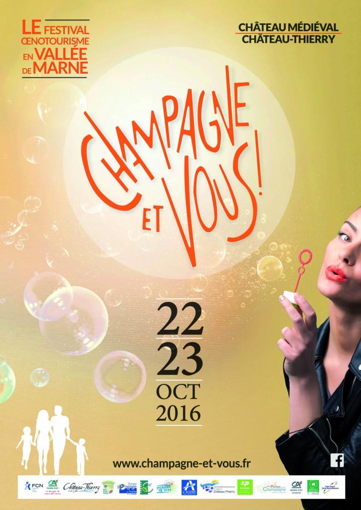 Affiche Champagne et Vous ! 2016