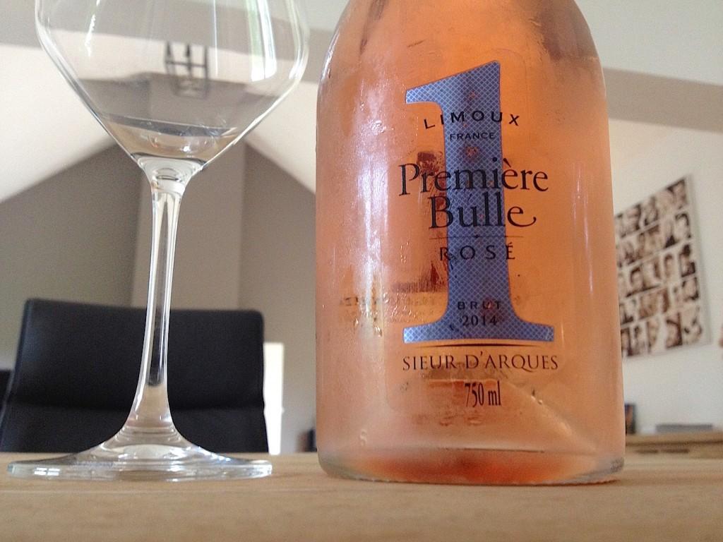 """Crémant de Limoux """"Première Bulle """" Rosé - Cave du Sieur d'Arques"""